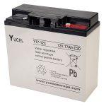 Yuasa Yucel Y17-12 Valve Regulated Sealed Lead Acid SLA Battery 12…