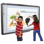 Qomo QWB100WS-PS H01 96″ Interactive Porcelain Steel Infrared Whit…