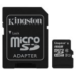 Kingston SDC10G2/16GB microSDHC UHS-I Card (Class 10) – 16GB