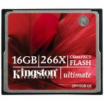 Kingston CF/16GB-U2 16GB CompactFlash Ultimate 266x