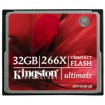 Kingston CF/32GB-U2 32GB CompactFlash Ultimate 266x