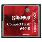 Kingston CF/64GB-U2 64GB CompactFlash Ultimate 266x