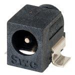 Switchcraft RASM722 SMT 2.1mm Power Socket