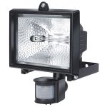 Brennenstuhl 1172360 Halogen Light H500 IP44 with PIR Sensor 400W …