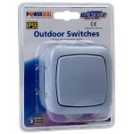 Timeguard TPSL01 Economy Outdoor Single Gang Switch