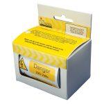Industrial Signs 'Danger 230V' Self-Adhesive Vinyl Roll (Pack of 2…