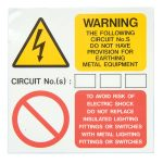 Industrial Signs IS7910SA Earth Provisions Labels 75×75 – Pack of …