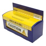 Industrial Signs IS59100R Mixed Cable Notice 130×60 – Pack of 100 …