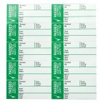 Industrial Signs IS1750SA Pass Test Labels Sml 35×15 – Pack of 50 …