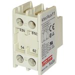 Techna KTECAUX11 Ktec Contactor Add On 1no+1nc Auxiliary