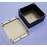 Hammond 1591UFLBK Multipurpose FRABS Enclosure Flanged Lid 120×120…