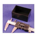 Hammond 1596B105-5 Potting Boxes 75 x 50 x 35 Black Pack of 5