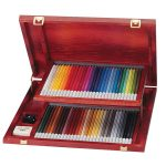 STABILO Art Products Carbothello Wooden Case, 60 Chalk Pastel Colo…