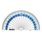 Helix H01040 180 Protractor 100mm (Pack of 50)