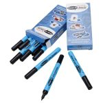 Show-me Dry Wipe Pens Black Fine – Pack of 10
