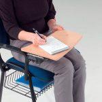 Metroplan Jane Meeting Room Chair Under Seat Basket Black