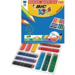 BiC Evolution Colouring Pencils Wood Free Class Pack 144