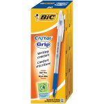 BiC Medium Cristal Pen with Grip Blue Pack 20