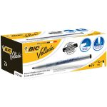 BiC Velleda 1721 White Board Markers Black (Box of 24)