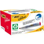 BiC Velleda 1701 White Board Marker Red (Pack of 12)