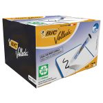 BiC Velleda 1701 Whiteboard Markers Black Pack of 48