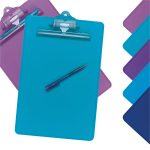 Snopake Clipboard with Pen Asst – Pack of 10