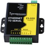 Brainboxes ES-020 Ethernet 1 Port RS232 10xScrew Terminals