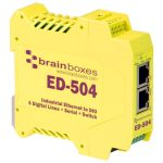Brainboxes ED-504 Ethernet to 4 Digital IO and RS232/422/485 Serial …