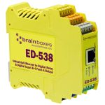 Brainboxes ED-538 Ethernet to 4 Relays and 8 Digital Inputs + RS48…