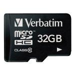Verbatim 44013 Micro SDHC 32GB – Class 10
