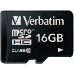 Verbatim 44010 Micro SDHC 16GB – Class 10