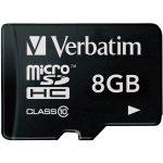 Verbatim 44012 Micro SDHC 8GB – Class 10