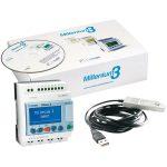 Crouzet 88974080 Millenium 3 Starter Kit CD12 R 24VDC