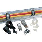 HellermannTyton 211-10080 ALU8-ALU-NA-C1 Aluminium P-Clip 12.7mm