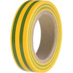 HellermannTyton 710-00106 HelaTape Flex 15 – PVC Tape Green/Yellow…