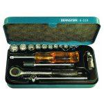 Bernstein 6-320 Socket Wrench Set In Metal Case – 16 Piece