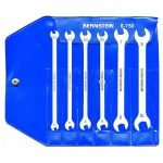 Bernstein 6-750 Special Double Open-Ended Wrench Set In Plastic Ca…