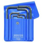 Bernstein 6-820 Wrench Key Set In A Plastic Wallet – 8 Piece