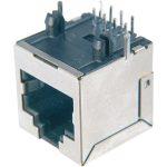 Assmann WSW AMJ-188-00101-CAT6 8 Pin RJ45 Socket Silver