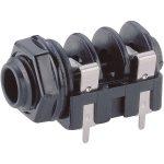 BKL 1109016 Jack Socket 6.35 mm 2 Pin Mono