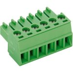PTR 51550060025E 6-Way PCB Screw Connector 3.81mm 9A