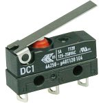 Cherry DC1C-A1LC Microswitch SPDT 6A 250V AC, Medium Lever, Solder…