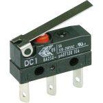 Cherry DC1C-L1LC Microswitch SPDT 6A 250V AC, Medium Lever, Q.C., IP67