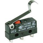 Cherry DC2C-A1SC Microswitch SPDT 10A 250V AC, Medium Sim Roller, …