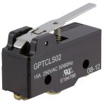 Cherry GPTCLS02 Microswitch SPDT 15A 250V AC Short Lever Screw