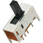 Zip Switch MS-049 Slide switch 6 Pin DP3T On-On-On