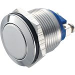 Zip Switch 19mm Vandal Resistant 36V DC 2A Flat Stainless Steel Sc…