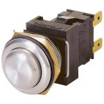 Arcolectric H8351RP IP66 Vandal Resistant Moment Switch DPST Off-O…