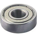 Modelcraft 609 ZZ Radial Steel Ball Bearing 24mm OD 9mm Bore 7mm Width