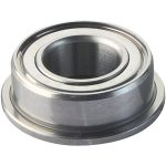 Modelcraft Radial Steel Ball Bearing with Flange 9mm OD 4mm Bore 4…